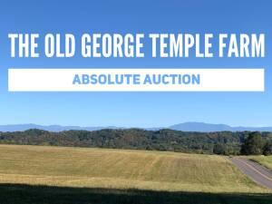 The Old George Temple Farm, Historic Boyds Creek Community