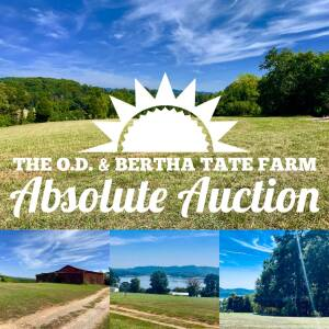 The O.D. & Bertha Tate Farm, 155 Acres, Bean Station, Tennessee