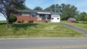 June 20: 7.45 ac & Small Brick Home Just Off Exit 8 I-81