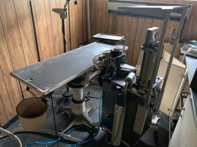 Operating table, lamp, and anethesia machine