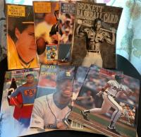 Collectible trading card magazines from 1990 and later, Bo Jackson, Ken Griffey Jr, many others
