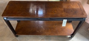 Sofa Table - 18 inches deep 54 inches long 26 inches tall