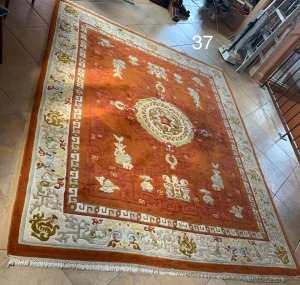 2 Oriental Handwoven Rugs (104 X 141) and (94 X 119)