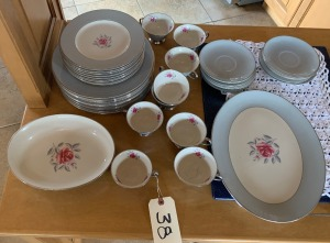 Approximately 42 pcs. Gorham China - excellent condition