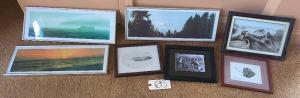 Seven Framed Pictures