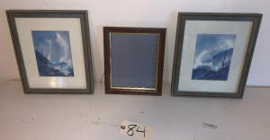 2 Jim Gray prints (matching), single frame