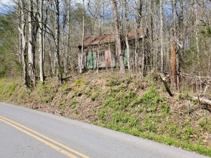 Lot 6 - 6.85 AC with cozy hardwood forest. There is another old homeplace at the front of lot 6 with old wooden structures in very poor condition. See topo map that shows lots of nice ridge top area with many building sites to choose from with mountain vi