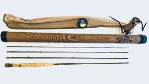 "G. Loomis ""Whisper Creek"" GLX 8'6'' 4wt Fly Rod and Tube"