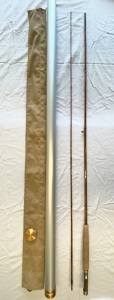 "Walter Babb ""PHY Boat Rod"" 8ft 6 wt Custom Handmade Bamboo Fly Rod"