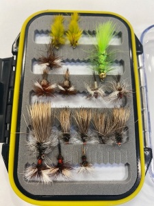 (13) Stimulators, Royal Wullfs, Humpy, Olive Leeches