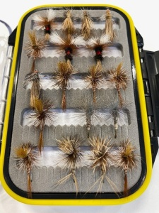 (18 flies) Mountain Fly Box #12-14