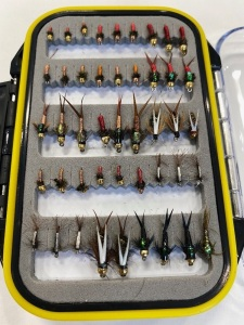midges and pheasant tails