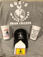 WINNER WINNER CHICKEN DINNER! GUS'S HOT CHICKEN PACKAGE! A $75 dollar gift certificate, hat, shirt and more! - 2