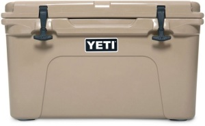 YETI Tundra 45 Hard Cooler -- a $299.99 retail value. Proudly donated by Bass Pro Shops, Kodak, Tennessee.