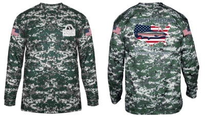 Long Sleeve Camp PHWFF Shirt (Donated by Patriot Threads USA) Retail Value $44.00