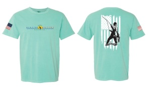 Short Sleeve PHWFF T-shirt (Mint) (Donated by Patriot Threads USA) Retail Value $23.00