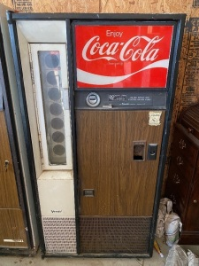 Vendo Coke Machine, believed to be Early to mid 1970's