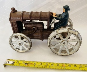 Cast Iron Antique Tractor