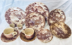 Broadhurst Staffordshire Stoneware made in England