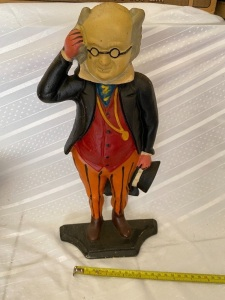 Cast Iron Doorstop Butler