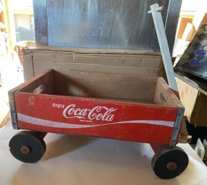 COCA-COLA CRATE BOX WAGON