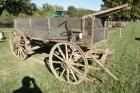 Old Horse Drawn Wagon