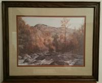 T. Chandler Smoky Mountain print signed 271/500