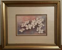 "Charles A. Towle, signed & numbered print ""Dogwood"""