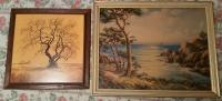 Lone Tree & Beach prints