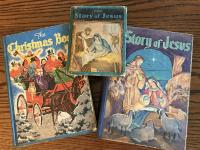 1930s and 1940s Childrens Christmas Books