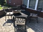 Conversation/Fire Pit Patio Table