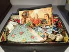old box - sewing notions