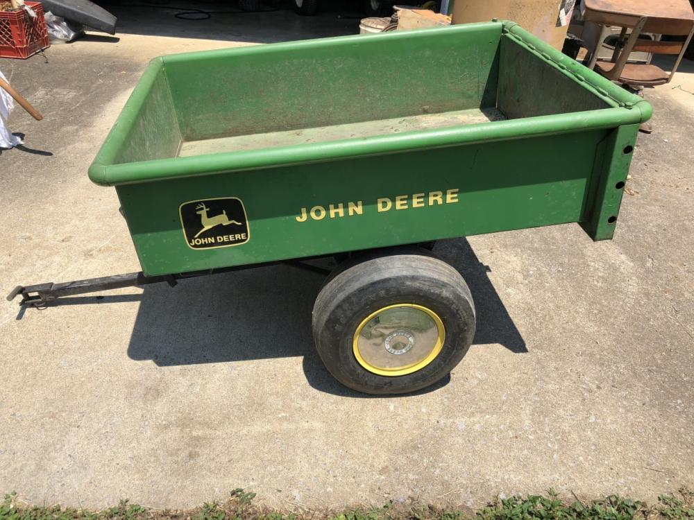 John Deere Model 80 Tilt Dump Trailer All Steel
