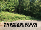 Lot 15 of Mountain Grove, Seymour TN. +/-0.57 Acre cul-de-sac lot, wooded with lots of privacy in a nice, quiet subdivision. Located between Boyds Creek Hwy and Kimberlin Heights Rd, just a 10 minute drive to Johnson University. See restrictions and surve